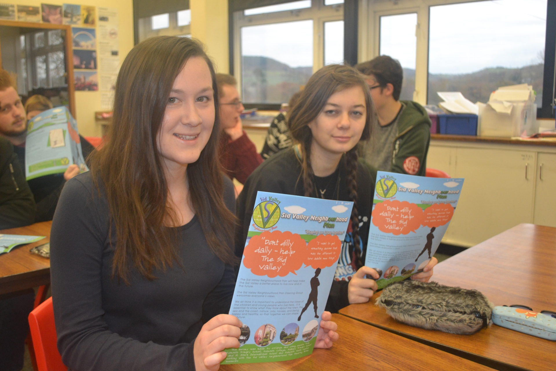 sid-valley-neighbourhood-plan-sidmouth-college-girls