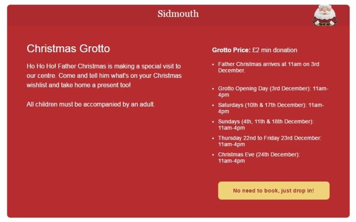 sidmouth-garden-centre-santas-grotto-timetable