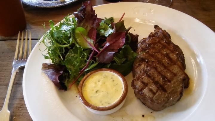the pig honiton steak